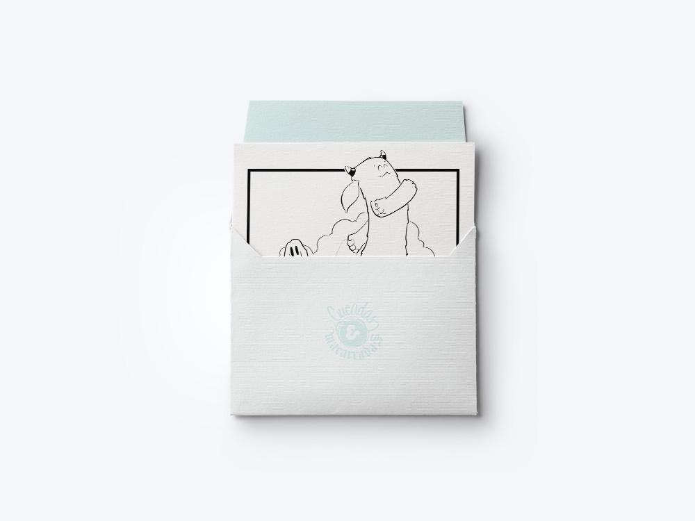 Ilustración Postal Duddu para Cucadas & Macarradas