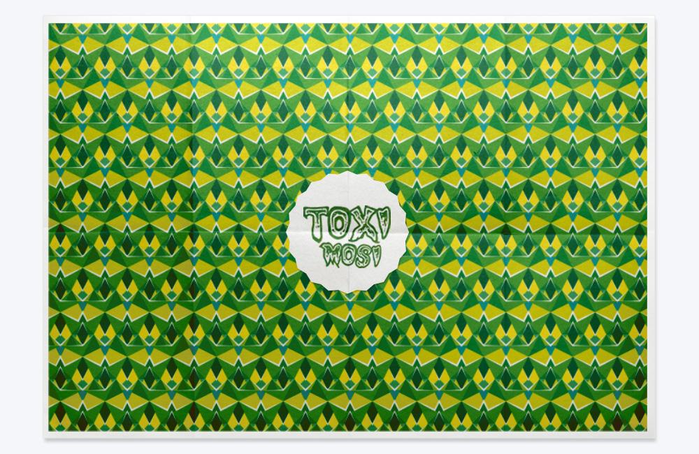 Pattern Colección Geometría Alborotada, Rombo tras rombo