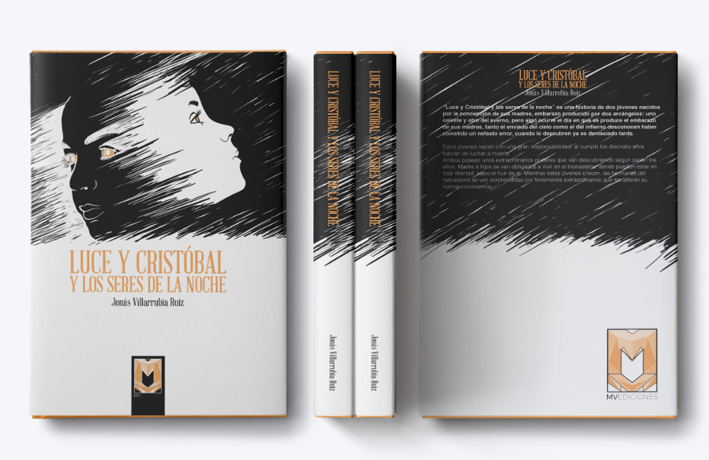 Portada Libro Luce y Cristobal y los seres de la noche